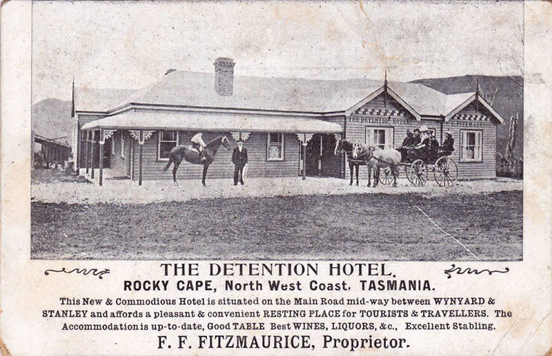 The Detention Hotel ad